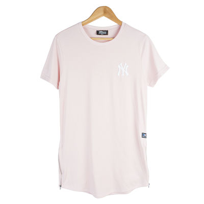 Two Bucks - NY Nakışlı Pembe T-shirt