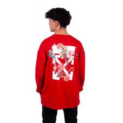 Two Bucks - Two Bucks - OFF Kırmızı Sweatshirt