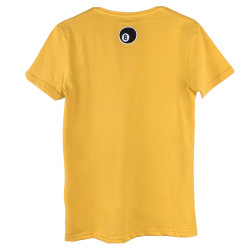 Two Bucks - Play Hard Rebel Sarı T-shirt - Thumbnail