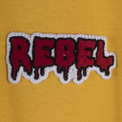 Two Bucks - Play Hard Rebel Sarı T-shirt