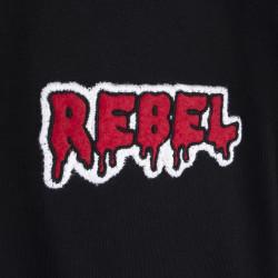 Two Bucks - Play Hard Rebel Siyah T-shirt - Thumbnail