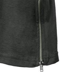 Two Bucks - Side Zip Haki T-shirt - Thumbnail