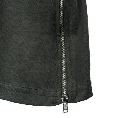 Two Bucks - Side Zip Haki T-shirt