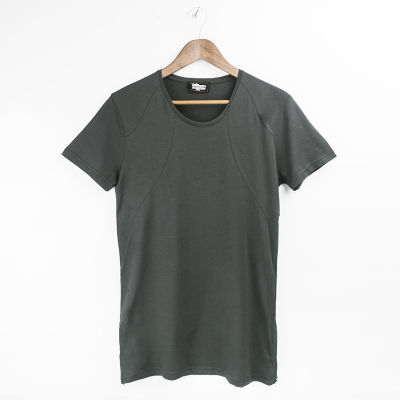 Two Bucks - Side Zip Haki T-shirt