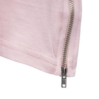 Two Bucks - Side Zip Pembe T-shirt