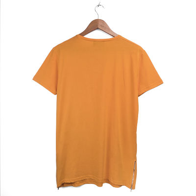 Two Bucks - Side Zip Turuncu T-shirt