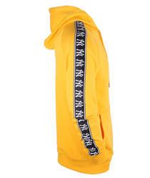 Two Bucks - Sarı NY Şeritli Hoodie - Thumbnail