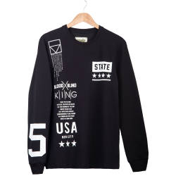 Two Bucks - Two Bucks - State Siyah Sweatshirt