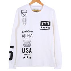 Two Bucks - Two Bucks - State Beyaz Sweatshirt