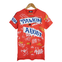 Two Bucks - Two Bucks - Talkin Kırmızı T-shirt