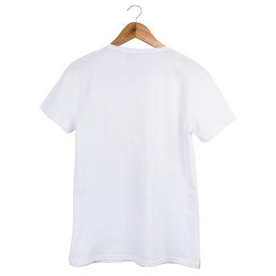 Two Bucks - The Guitarist Skeleton Beyaz T-shirt