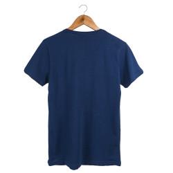 Two Bucks - The Guitarist Skeleton Lacivert T-shirt - Thumbnail