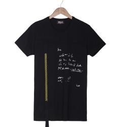 Two Bucks - Two Bucks - Two Bucks Letter Siyah T-shirt
