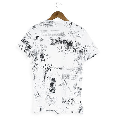 Two Bucks - Urban Graffiti Beyaz T-shirt