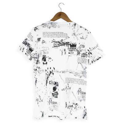 Two Bucks - Urban Graffiti Beyaz T-shirt