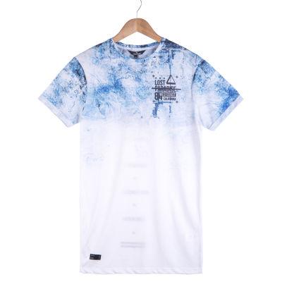 West Coast California Beyaz & Mavi T-shirt