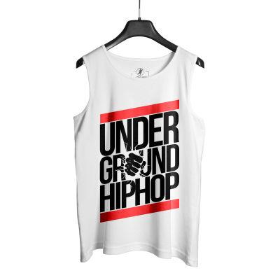 HH - Under Ground HipHop Beyaz Atlet