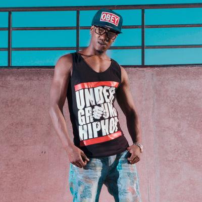 HH - UnderGround HipHop Siyah Atlet