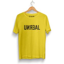 HH - Unreal Sarı T-shirt - Thumbnail