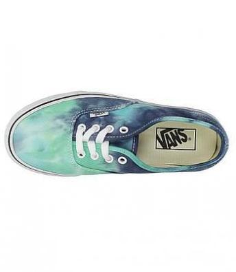 Vans - Authentic (Tie Dye) Navy/Turquoise Ayakkabı