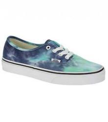 Vans - Vans - Authentic (Tie Dye) Navy/Turquoise Ayakkabı