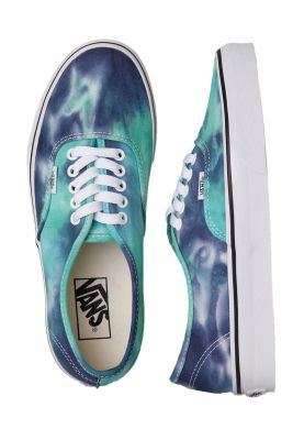 Vans - Authentic (Tie Dye) Navy/Turquoise Ayakkabı