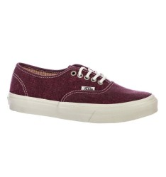 Vans - Vans - Authentic Slim (Stripes) Washed/Tawny Ayakkabı