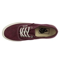 Vans - Authentic Slim (Stripes) Washed/Tawny Ayakkabı - Thumbnail