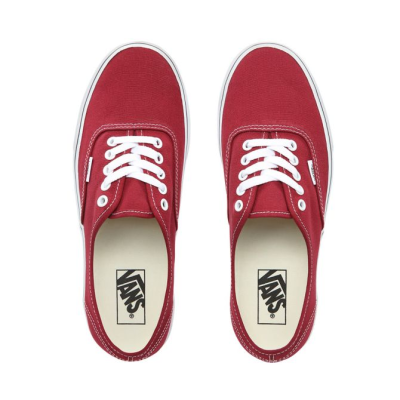 Vans - UA Authentic Rumba Red / True White Ayakkabı