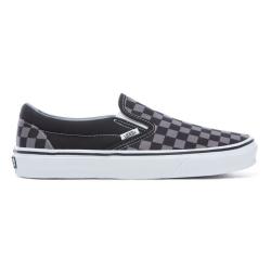 Vans - Vans - Classic Slip-on (Checkerboard) Black / Pewter Ayakkabı
