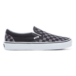Vans - Vans - Classic Slip-on (Checkerboard) Black / Pewter Ayakkabı