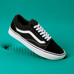 Vans - Vans - UA Comfycush Old Skool Black / True White Ayakkabı