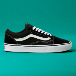 Vans - UA Comfycush Old Skool Black / True White Ayakkabı - Thumbnail