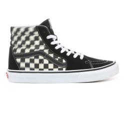 Vans - Vans - SK8-Hi Blur Check Black / Classic White Ayakkabı