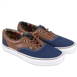 Vans - Era (C&L) Dress Blus/Potting Soil Ayakkabı - Thumbnail