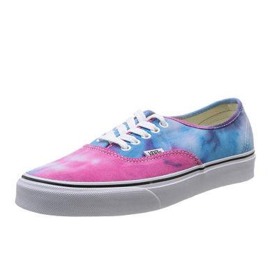 Vans - Vans - Authentic (Tie Dye) Pink Blue Ayakkabı