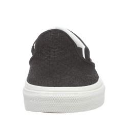 Vans - Classic Slip-On (Braided Suede) Black Ayakkabı - Thumbnail