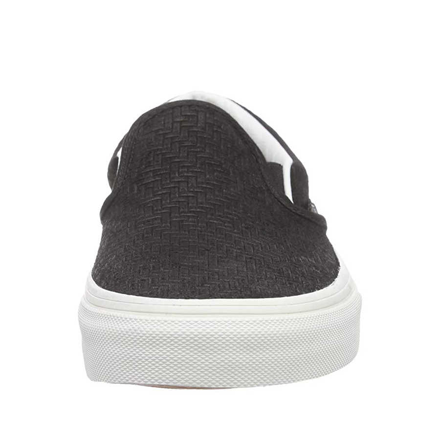 Vans - Classic Slip-On (Braided Suede) Black Ayakkabı
