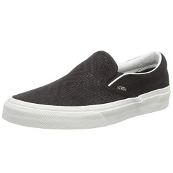Vans - Vans - Classic Slip-On (Braided Suede) Black Ayakkabı