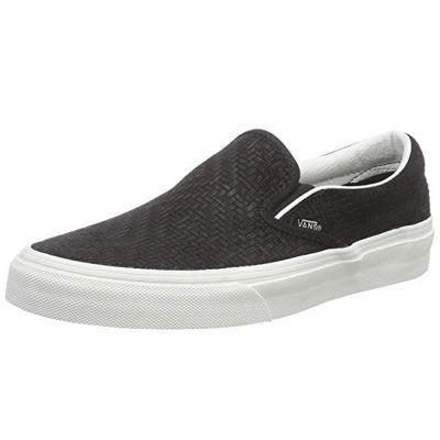 Vans - Vans - Classic Slip-On (Braided Suede) Black Ayakkabı