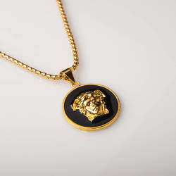 HollyHood - Versace Black & Gold 1 Kolye
