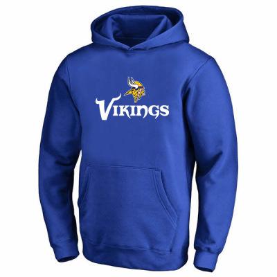NBA - Vikings Mavi Cepli Hoodie