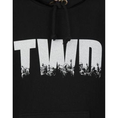 Bant Giyim - The Walking Dead Siyah Hoodie
