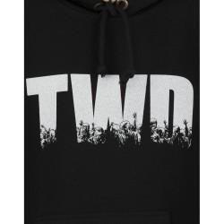 Bant Giyim - The Walking Dead Siyah Hoodie - Thumbnail