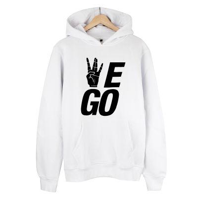 HollyHood - We Go Beyaz Hoodie