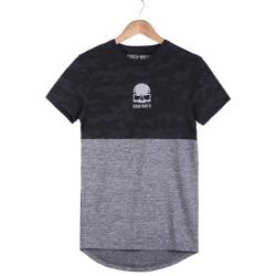 HollyHood - Call Of Duty Kamuflaj & Gri T-shirt