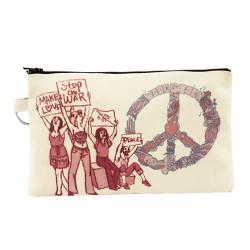 Bant Giyim - Woodstock Peace Cüzdan - Thumbnail
