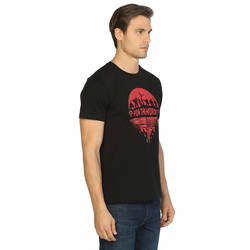 Bant Giyim - WOW World Of Warcraft Siyah T-shirt - Thumbnail