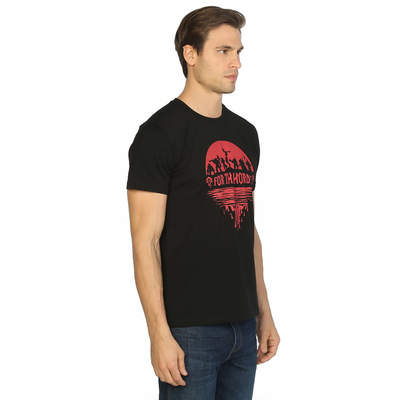 Bant Giyim - WOW World Of Warcraft Siyah T-shirt