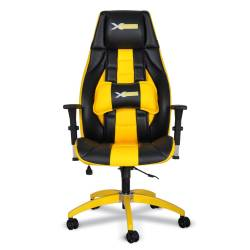 xDrive - xDrive - 1453 Profesyonel Oyun | Oyuncu Koltuğu Sarı/Siyah